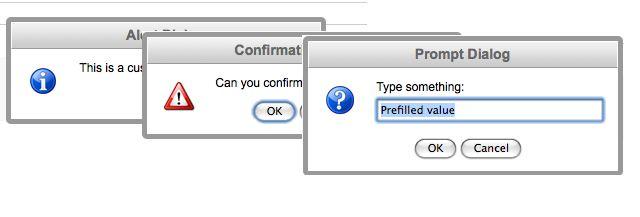 Методы alert, prompt, confirm в JavaScript